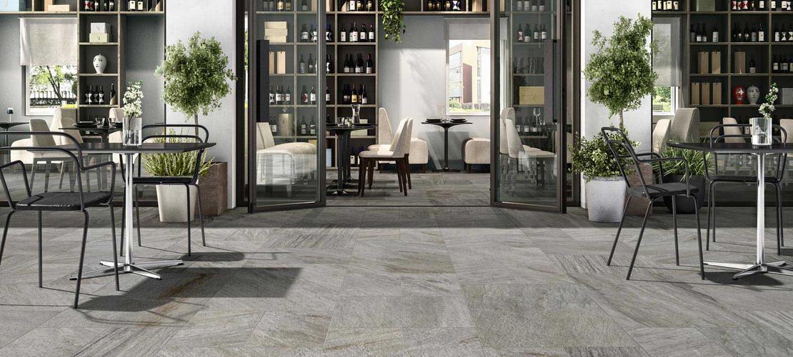 Gres efecto piedra para interiores y exteriores ragno - Gres para exteriores ...