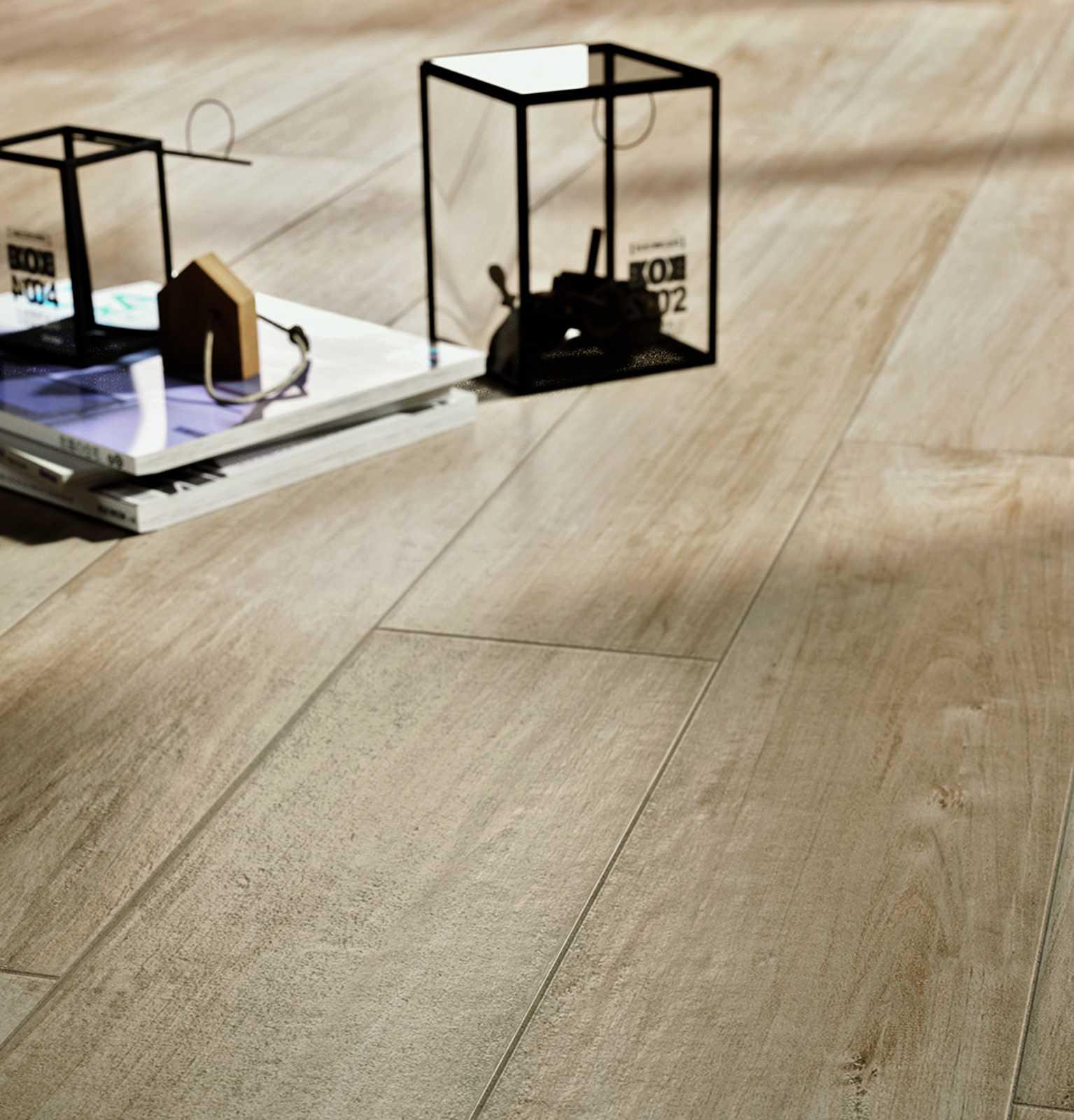 Colección Woodcomfort: pavimentos Gres efecto madera   Ragno