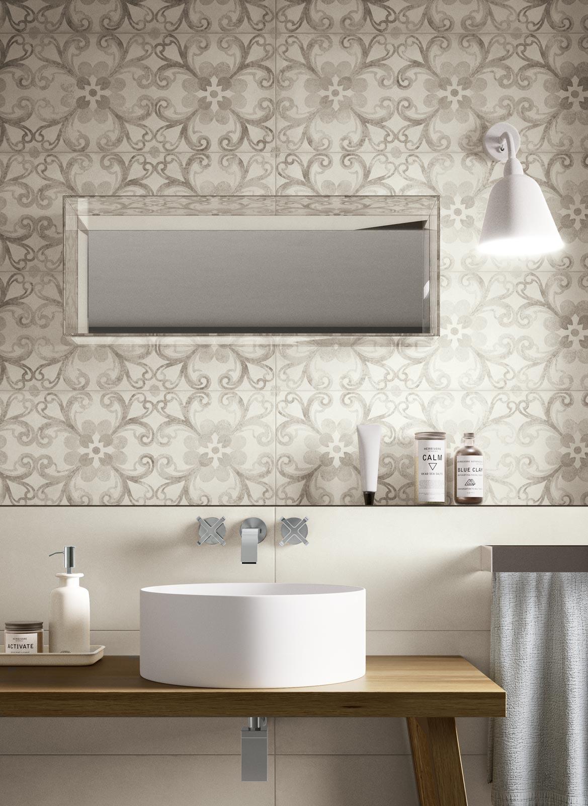 Azulejos Baño Gres Porcelanico:Ragno Rewind Wall