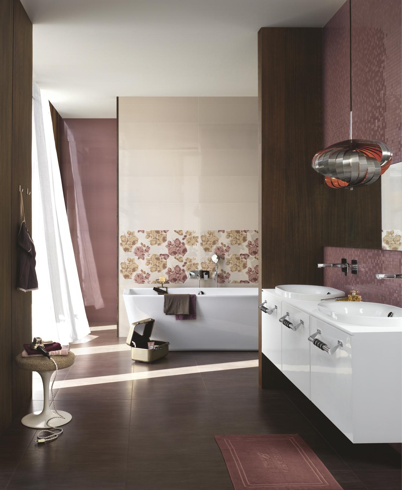 Azulejos Baño Fucsia ~ Dikidu.com