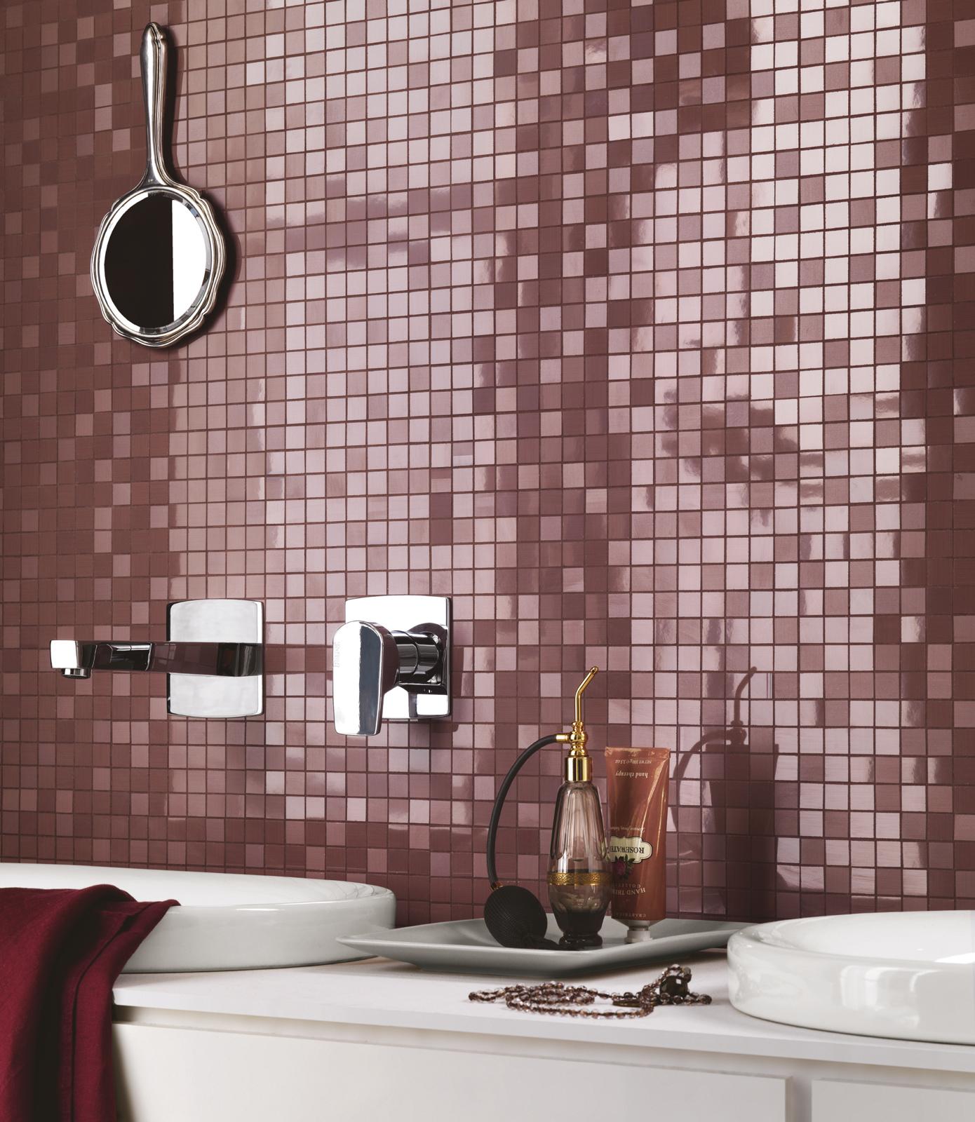 Azulejos Baño Fucsia:Gres Porcelánico de Azulejos Rosa: para el baño y las habitaciones